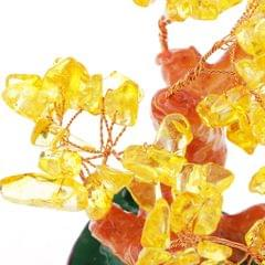 Mini Crystal Money Tree Bonsai Style Feng Shui Bring Wealth & Luck #2