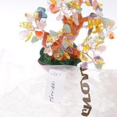 Mini Crystal Money Tree Bonsai Style Feng Shui Bring Wealth & Luck #1