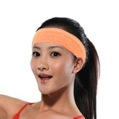 Unisex Sports Yoga Headband Wrap Gym Fitness Elastic Sweatband Orange