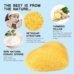 Konjac Cleaning Sponge Puff Exfoliating Facial Sponge for Deep Clean White