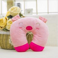 Cute Cartoon Neck Pillow Back Pillow #1 Pig
