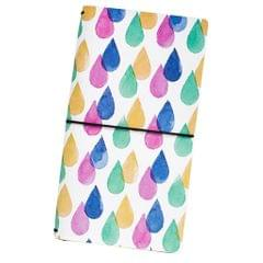 PU Leather Cover Travel Notebook Travel Journal Diary Note Book Water drop