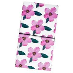 PU Leather Cover Travel Notebook Travel Journal Diary Note Book Flower