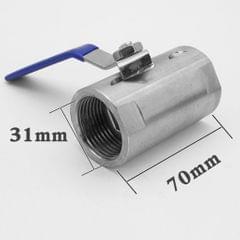 1'' Stainless Steel Ball Valve NPT DN25 for Water Oil Non-corrosive Liquid