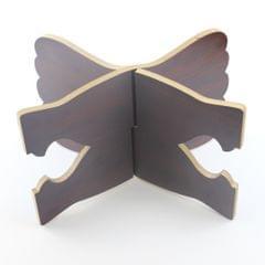 Book Stand Wooden Reading Holder Desk Bookstands Cookbook Rack Tray Golden