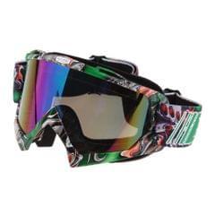 Anti Fog Motorcycle ATV Dirt Bike Racing Goggles Glasses A011 Colored Mirror