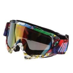Anti Fog Motorcycle ATV Dirt Bike Racing Goggles Glasses A016 Colored Mirror