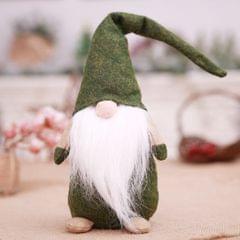 Gnome Plush Figurines - Elf Ornaments Home Christmas Decoration Green