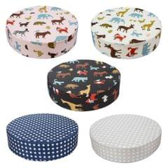 CHILDREN HIGHCHAIR PAD BABY BOOSTER SEAT CUSHION KIDS DINING CHAIR Silver