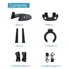 VR Headset and Touch Controllers Stand Storage Mount for Oculus Quest 2 Go