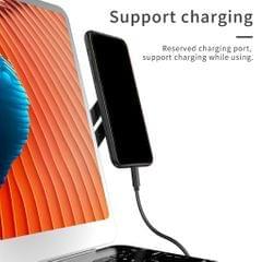 Durable Side Mount Magnetic Bracket Clip Laptop Stand Phone Holder Black