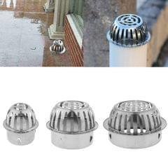 Stainless Steel Floor Drain Plug-In Balcony Roof Outdoor Floor Drain 65mm