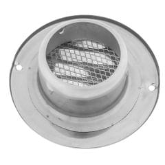 Stainless Steel Wall Ceiling Round Air Vent Grille Cover Ventilation Ducting 80mm