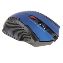 2.4GHz USB Wireless Mouse for Laptop Computer Optical Mice Scroll Blue