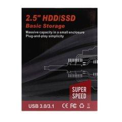 Black External Hard Drive Disk Storage Devices 2.5'' USB 3.0 2.0 SATA 1T