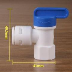 "Water Tank Ball Valve for RO Reverse Osmosis Filter System ID 1/4"" to 3/8"""