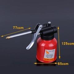 250ml Steel High Pressure Hand Pump Oiler Oil Pot Lubricant Soap Spray Can