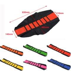 Universal Gripper Soft Motorcycle Anti-Slip Seat Cover for Dirt Bike Red
