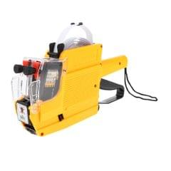 MX-6600 10 Digits 2 Lines Price Tag Gun Price Labeller Multi-Currency Yellow
