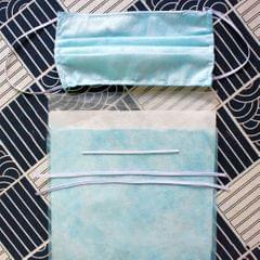 3-Layer Meltblown Non Woven Fabric Disposable Mask Making DIY Kit 30 Masks