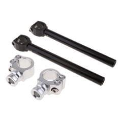 "Motorcycle Fork Clamp Tubes CNC Clip-On Ons 7/8"" Handlebars Handle Bar 33mm"