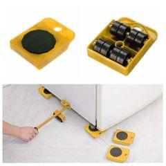 Furniture Move Tool Transport Heavy Shifter Moving Wheel Slider  Yellow