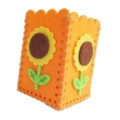 Early Educational Montessori Lacing Threading Toy Orange Pen Holder x 2 Pack