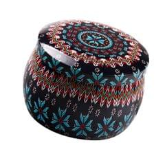 Tinplate Box Cookies Candy Storage Jar for Christmas Wrapping Gifts Motley