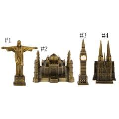 World Famous Landmark Ornament Metal Statue Figurine Brazil-Statue of Christ