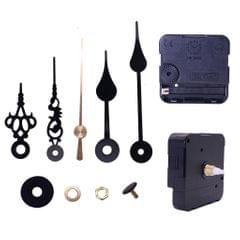 1 Set Silent Wall Clock Movement with Pointer for DIY Repair Parts