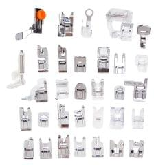 32 Sewing Machine Presser Foot Feet Kit fit for Brother Singer Janome