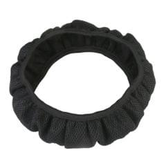 Soft Breathable Mesh Car Steering Wheel Cover Vehicle Grips Skin Cover Black