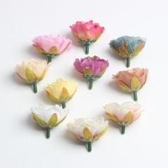 50pcs Artificial Silk Rose Flower Head DIY Wedding Party Decor Pink