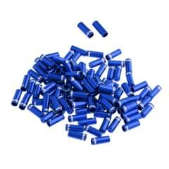 100 Pieces Bicycle MTB Brake Cable  Wire End Caps Tips Dust Cover  Blue