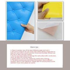 Anticollision Soft Thicken Wall Sticker Decal Foam Wallpaper Adhesive White