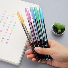 Gel Pens Set Colored Pen Fine Point Art Marker Pen Highlighter Pen 12 Colors