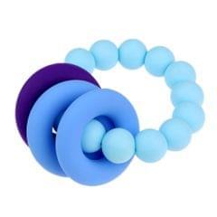 Silicone Teething Beads Bracelet Teether Mum Baby Nursing Jewellery Sky Blue