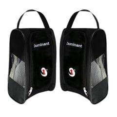 Portable Waterproof Golf Sport Shoes Bag Footwear Travel Case Hand Bag Black