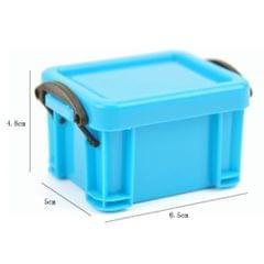 Mini Lock Box Super Cute Storage Boxes Organizer for Jewelry Red
