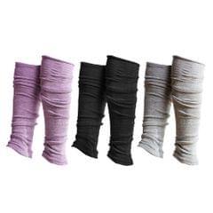 Leg Warmers Long Socks Boots for Dance Yoga Fitness Gym Exercise Gray