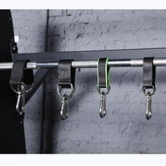 1100lb Swing Hanging Straps Kit Gym Hanging Strap Webbing W/ D-ring Clip B