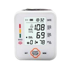 Electronic Blood-Pressure Monitor Home Use Wrist Type