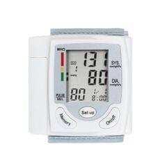 LCD Display Blood Pressure  Monitor Wrist Pulse Meter
