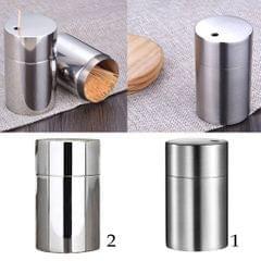 Stainless Steel Toothpick Holder Toothpick Dispenser Table Decor Matt