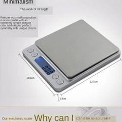 Accurate Digital Electronic Jewelry Scale Portable Kitchen Scale Gram 3000