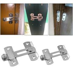 Stainless Steel Door Latch Latch Buckle For Home Bedroom Supplies Ornament S