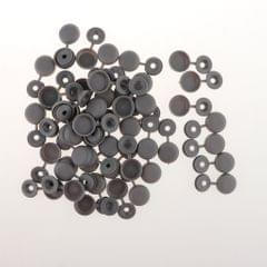 Screw Cover Cap Hole Plug Furniture Hinge Hole Cap  50PCS Gray