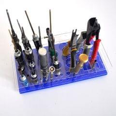 DIY Multifunctional Screwdriver Wrench Pliers Tool Storage Rack Holder Black