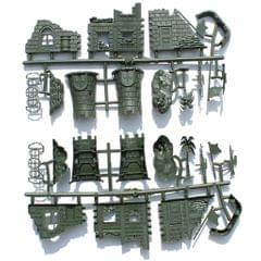 Plastic Army Base Solider Accessories for Army Sand Scene Model Toy