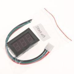 "0.56 3-Wire DC 0-10A Dual LED Digital Voltmeter Voltage Testing Gauge Red Digits"""
